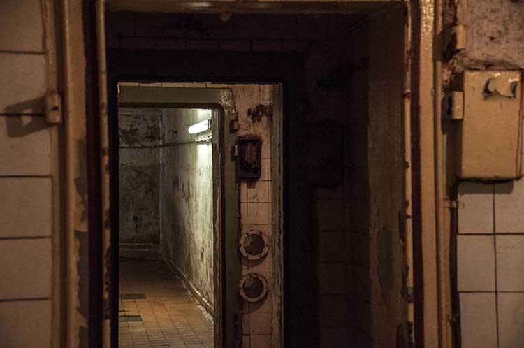 Eingang Zeppelin-Bunker