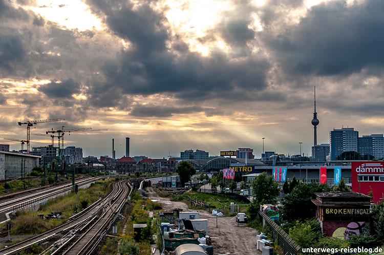 Von der Oberbaumbrücke zur Warschauer Brücke