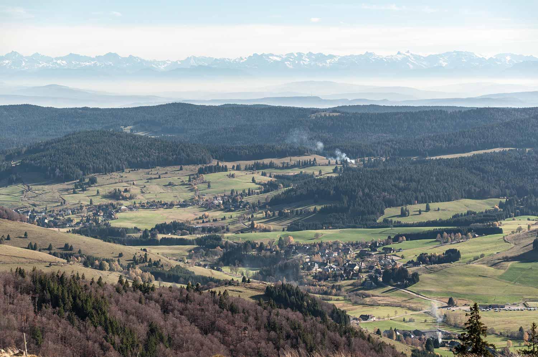 Alpen vom Herzogenhorn aus