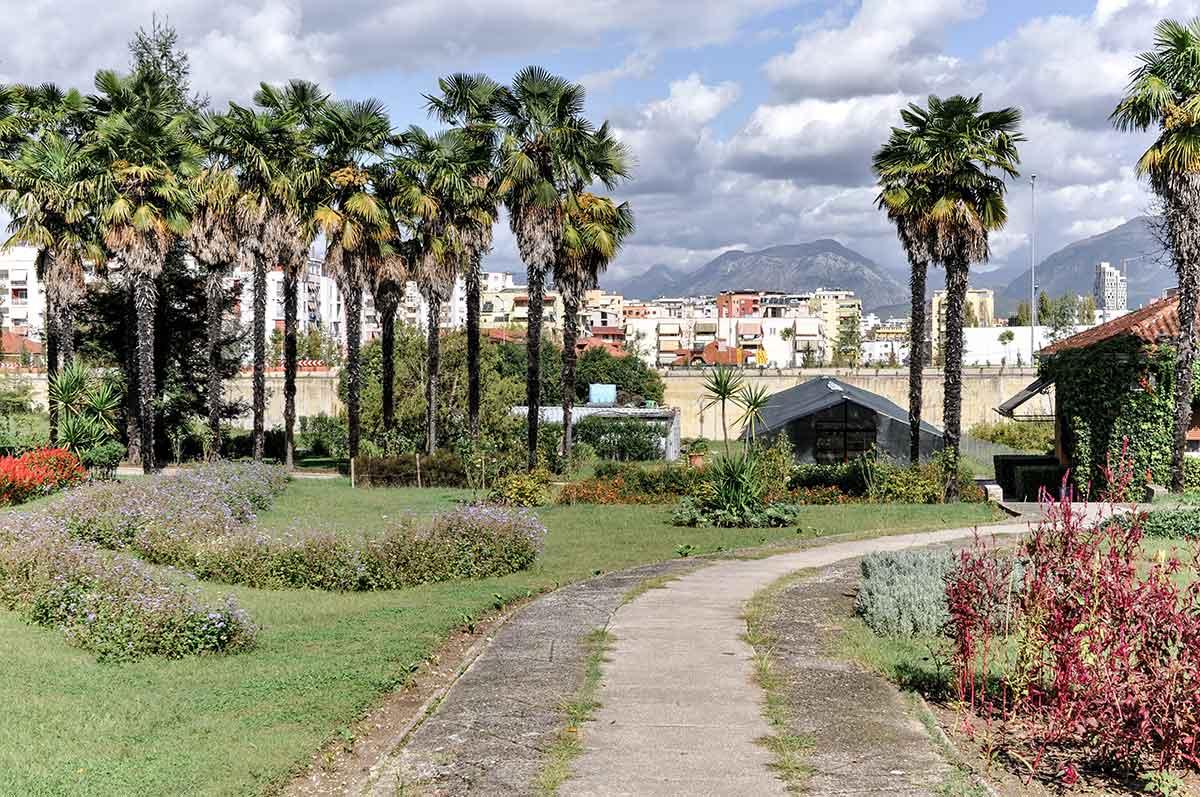Botanischer Garten von Tirana