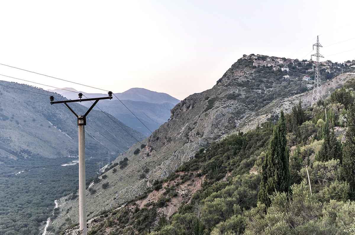 Geisterstadt in Albanien