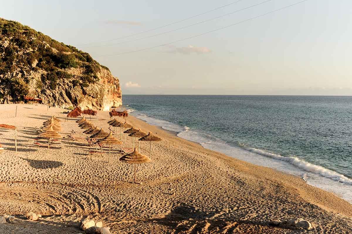 Strand von Gjipe