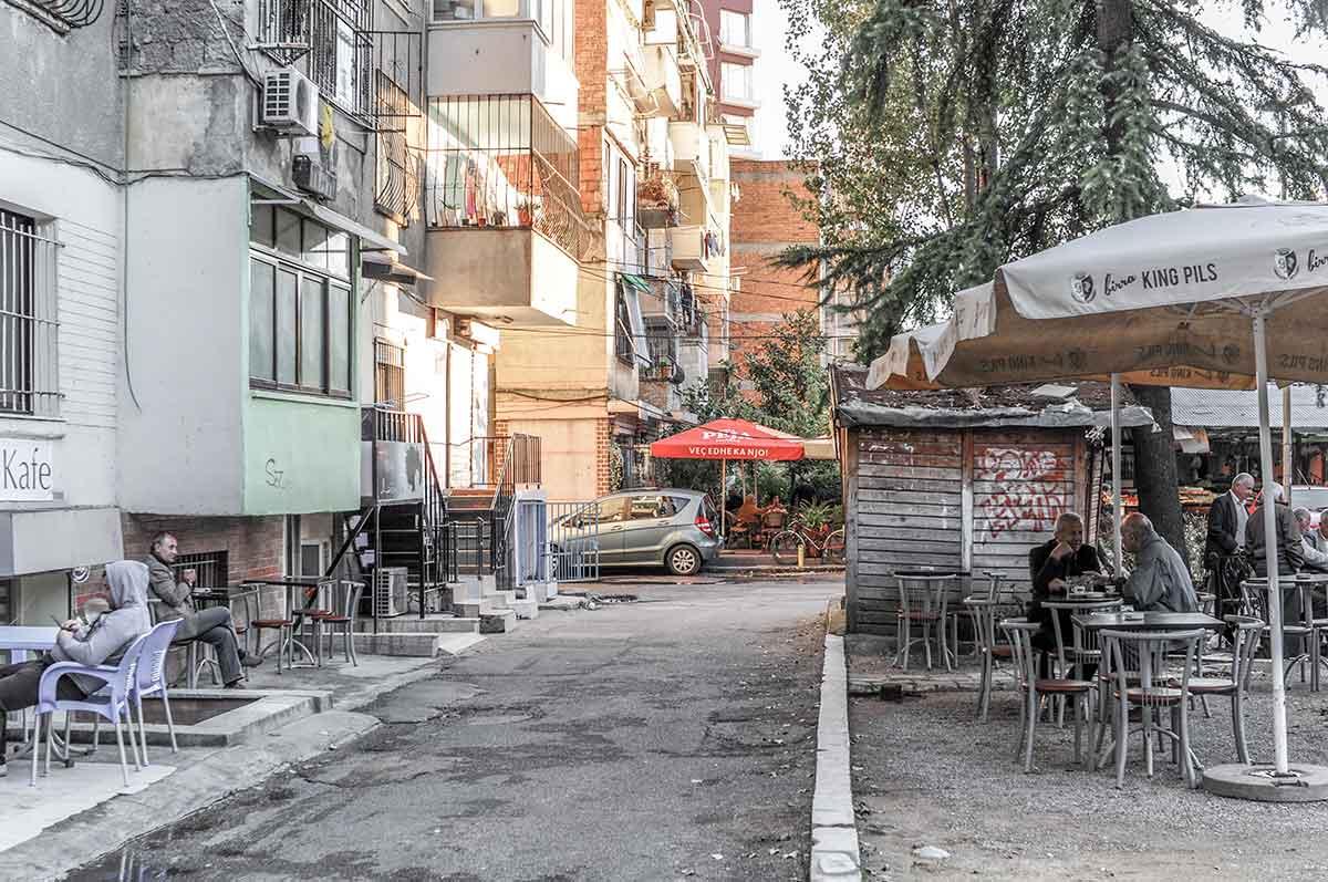 Straße in Blloku
