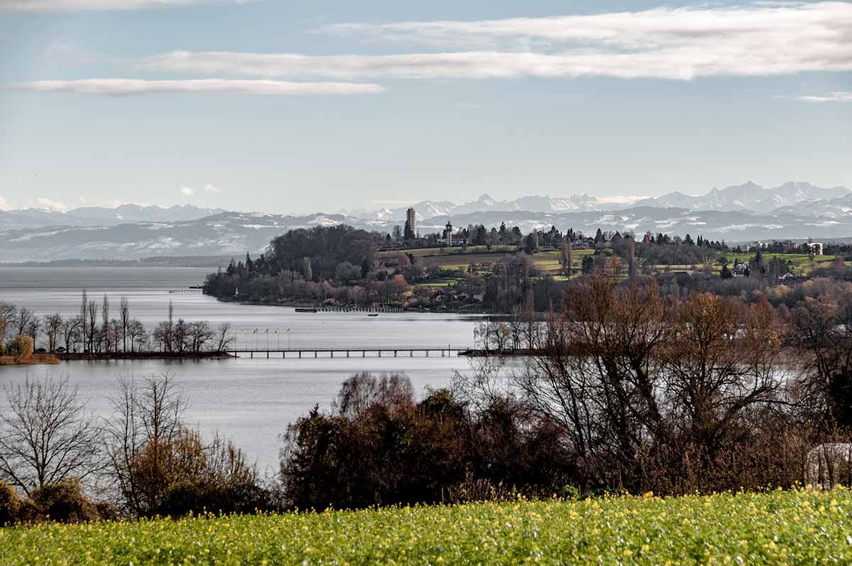 Landschaft bei Konstanz