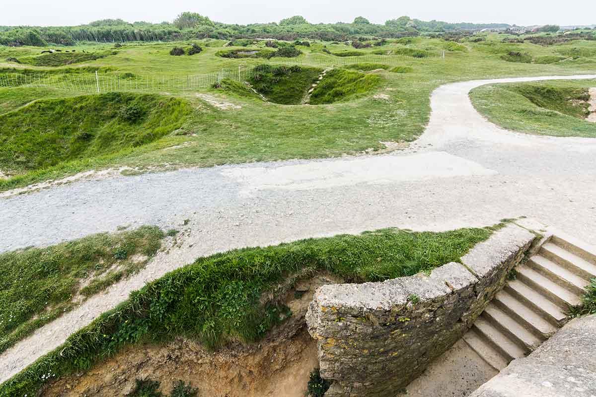 Pointe du Hoc - Festung aus Beton 2