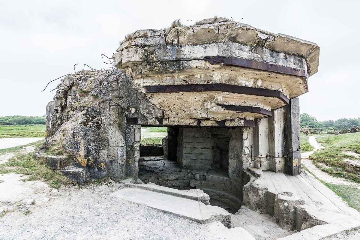Pointe du Hoc - Festung aus Beton 11