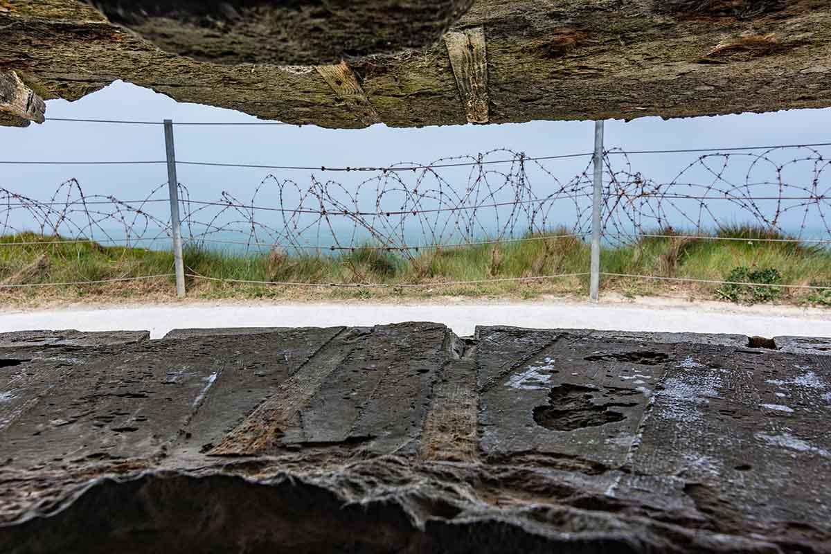 Pointe du Hoc - Festung aus Beton 13