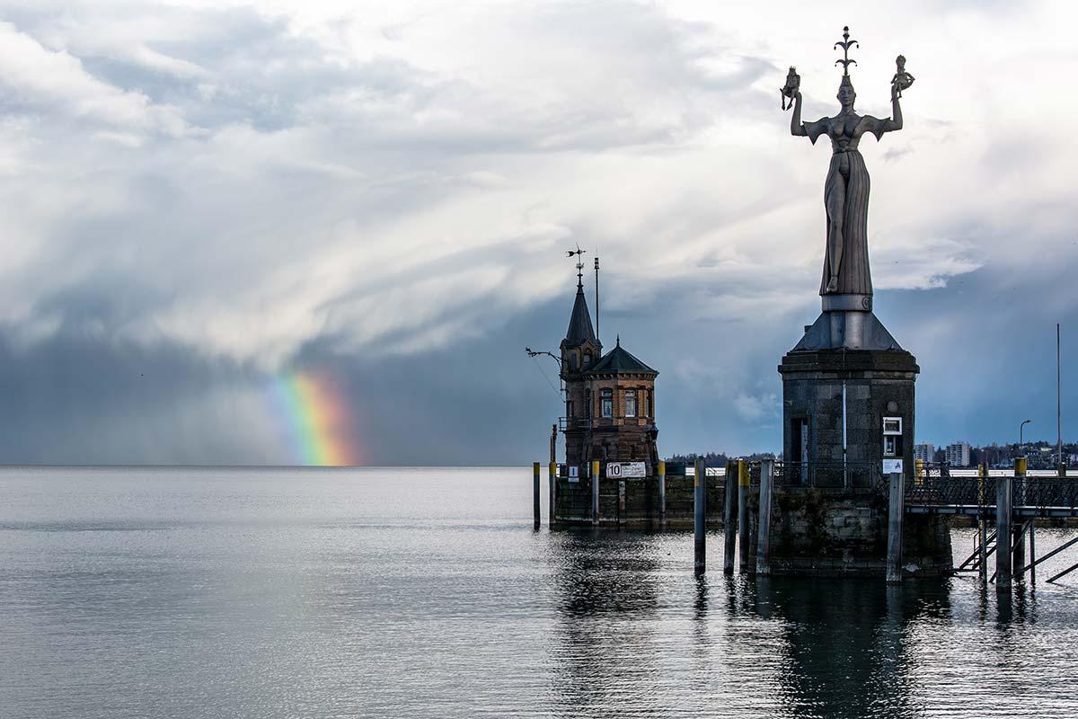 Der Hafen von Konstanz