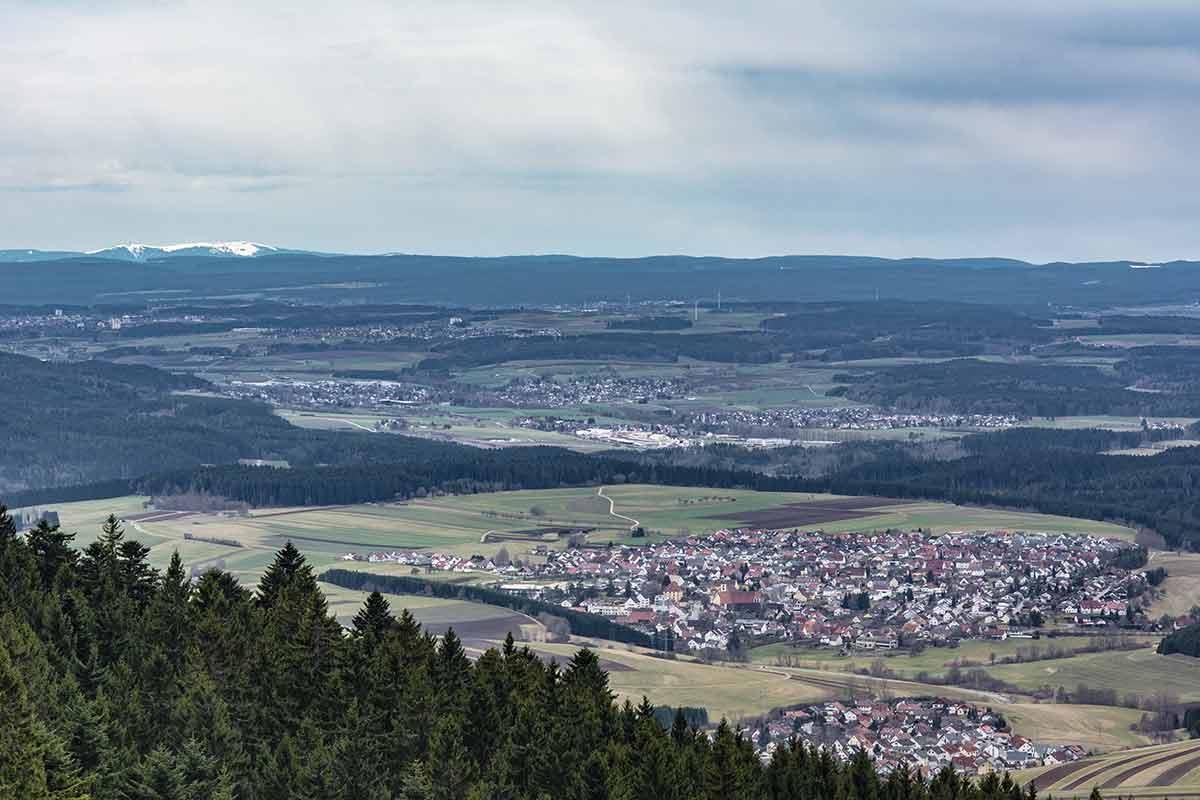 Aussicht vom Lemberg