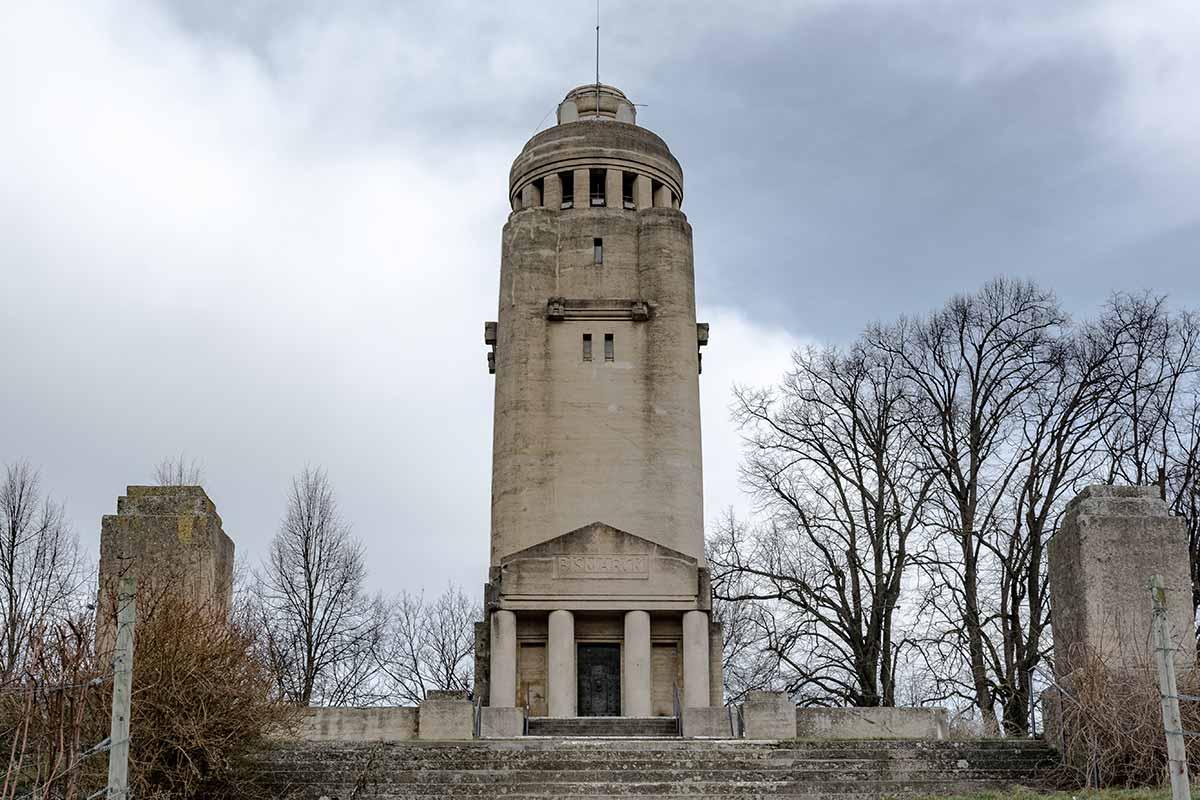 Der Bismarckturm von Konstanz