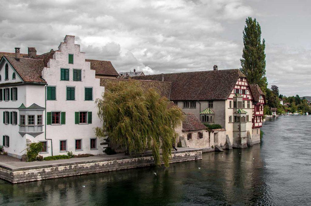 Stein am Rhein am Radweg um den Untersee