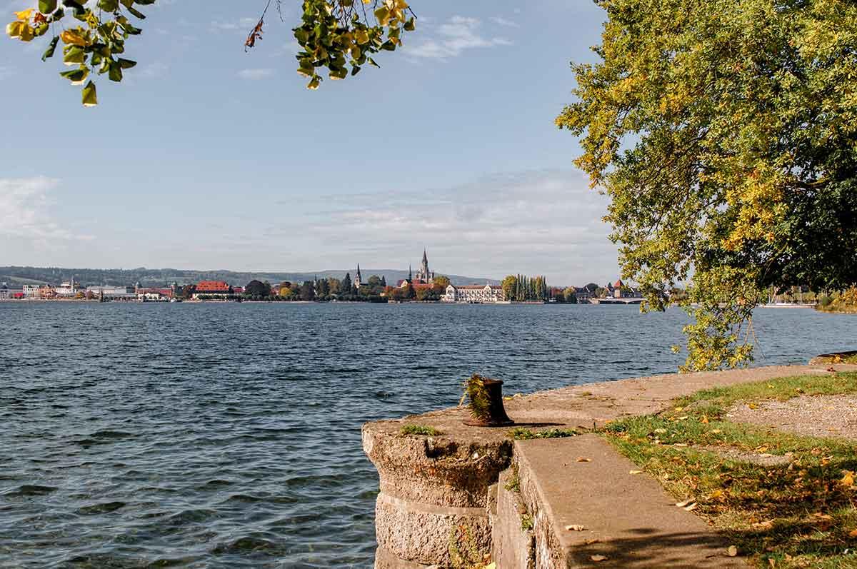 Aussicht auf Konstanz